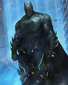 Injustice Batman and Superman by Xiaochen Li @thegeekrealm @thegeekrealm2 @thefearrealm #Batman #Superman #Injustice2