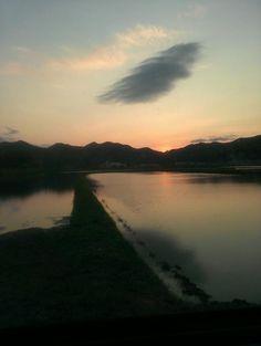 夕焼け sunset  春日町朝日 【TanbaPhotoclub】 #tanba