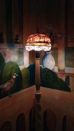 Lamphade/lampenkapje Coiffe 'Charlotte elle door MargrietThissen