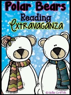 This polar bear extravaganza is jam packed with FUN! Use this bundle to explore fiction and nonfiction reading strategies and skills while learning about bears. It includes comprehension guides, reading response sheets, language arts printables, writing activities, a polar bear glyph, polar bear craftivity/hat, web quest, research projects, and so much more!!