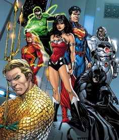 Justice League by Gary Frank