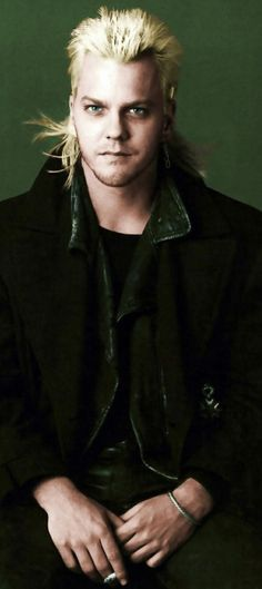 Kiefer Sutherland as David / The Lost Boys <3