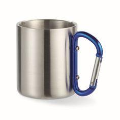 Метална чаша Bastic с карабинер – 200мл