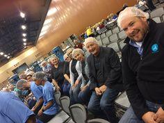 The ACI Hairnet Crew ready for duty!