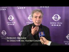 Comentarios de Sergio Renán durante Shen Yun en Buenos Aires