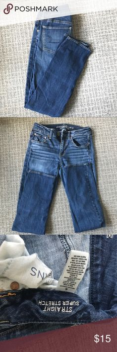 American Eagle straight leg jeans Size 6 American Eagle straight leg jeans American Eagle Outfitters Jeans Straight Leg