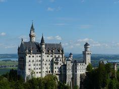 Schloss Neuschwanstein, Schwangau, Bayern