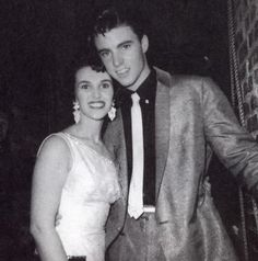 """Ricky Nelson and Wanda Jackson a.k.a. """"the Queen of Rockabilly""""."""