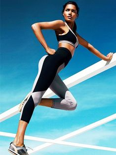 The Take-Anywhere Toned Leg Workout via @ByrdieBeauty Fitness Outfits, Womens Workout Outfits, Fitness Fashion, Sport Outfits, Fitness Wear, Fitness Apparel, Yoga Outfits, Fitness Clothing, Sports Apparel