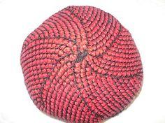 Tunisian crochet hat pattern
