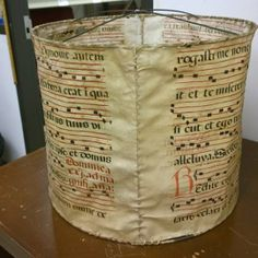 http://sexycodicology.net/blog/medieval-manuscript-lampshade/
