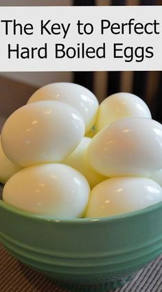 The Key to Perfect Hard Boiled Eggs geburtstagswünsche - best german pins Baked Hard Boiled Eggs, Hard Boiled Egg Recipes, Cooking Hard Boiled Eggs, Boiled Egg Diet, Hard Boil Eggs, Easy Peel Boiled Eggs, Perfect Hard Boiled Eggs, Perfect Eggs, Steak And Eggs Diet
