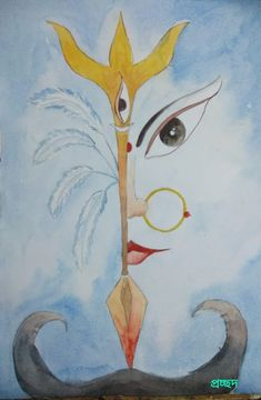 Puja 2019 Painting, Art, Art Background, Painting Art, Kunst, Paintings, Performing Arts, Painted Canvas, Drawings