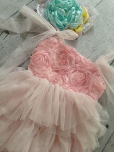 Easter Dress Pale Pink - Cozette Couture
