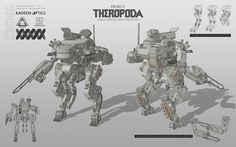 ArtStation - Theropoda, Alexey Ryabtsev