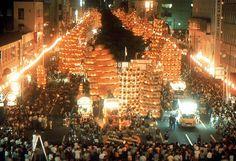 Festival in Japan; Akita Kantoh Festival;
