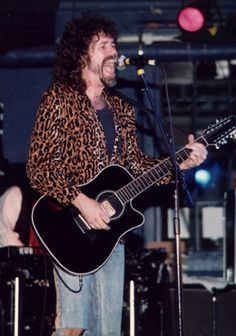 Brad Delp of Boston...was dating my coworker who got me backstage passes for Hartford CT where I got to meet him. He did an autograph signing in TX with Javier Lopez and got my son a signed baseball. Which the dog later ate. dead dog. RIP Brad xo