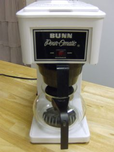 bunn pour omatic coffee maker 8 cup