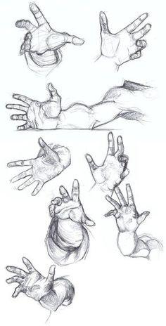 Foreshortening Practice by falyn4god.deviantart.com on @DeviantArt