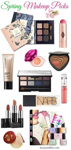 Winter doldrums don't stand a chance when you have luminous eye shadows, beach sticks, brightening blush & bronzers to play with! Here are some of the latest makeup picks for spring 2015 you might want to keep a look out for on your next trip to Sephora or Ulta!