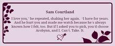 Sam Courtland - Fist Love of Celaena Sardothien #ThroneofGlass