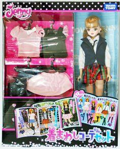 Takara Tomy Jenny Doll Jenny Casual Clothes Set (429203)