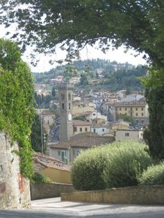 Fiesole, above Florence, Italy.  Missing you, @Robin Stevenson!