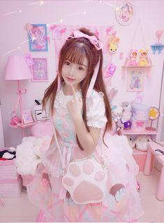 Asian Cute, Cute Korean Girl, Asian Girl, Kawaii Cosplay, Cute Cosplay, Kawaii Fashion, Lolita Fashion, Trendy Fashion, Kawaii Clothes