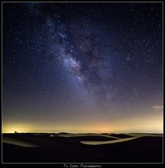 Starry Sky over the Imperial Sand Dunes....2-3 hrs from San Diego, maybe 4-5 hrs from LA area....need to do more research but worth a look.