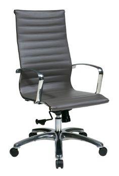 OSP Furniture High-Back Grey Eco Leather Chair, Grey OSP Furniture http://www.amazon.com/dp/B00AZWRT98/ref=cm_sw_r_pi_dp_jw6lwb0WZXXP6