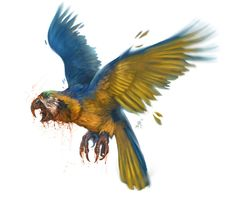 Camulatz- Mayan myth: large carnivorous birds resembling parrots. They rip off and eat the heads of their victims.