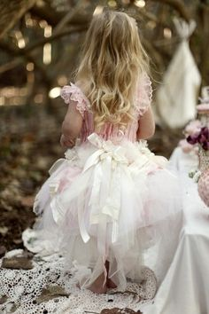 And The Flower Girl Wore........:)