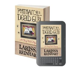 Info on Portrait of a Dead Guy blog tour and Goodreads Giveaway.