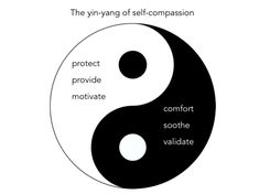 yin yang of self compassion