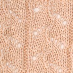 waving fronds stitch pattern