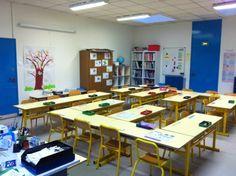 disposition spatiale des tables et chaises