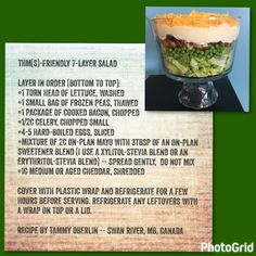 THM(S)-Friendly 7-Layer Salad