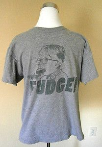 "Mens Size M, A Christmas Story T Shirt, Ralphie with Soap in Mouth,""Fudge!"", Movie. $2.99"