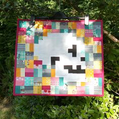 Skull Quilt. The Front by Flying Blind On A Rocket Cycle, via Flickr