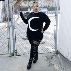 Goth Plus Size Buying Guide – Stygian Siryn Alternative Outfits, Alternative Fashion, Gothic Fashion Men, Dark Fashion, Fashion Vintage, Women's Fashion, Plus Size Goth, Plus Size Model, Ballerinas