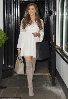 'She's looking at other options': It was recently reported that Wright is set to quit The Only Way Is Essex