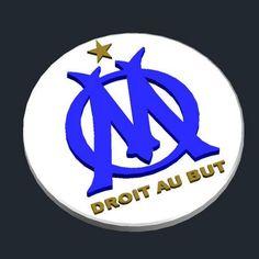 3D printed Olympique de Marseille - Logo, CSD_Salzburg