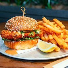 Crispy Chicken Katsu Burger - The Fox, South Brisbane   24 Epic Burgers Everyone In Brisbane Needs To Try Immediately
