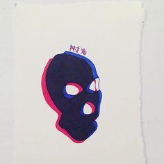 Ugh, I finished peaky blinders. Can resume life now. #mask #skiimask #gimp #ink #illustration #lepen #fineliner #doublevision #blueandred #lowbrow #lowbrowart #darkart #darkartists #macabre #fetish #kink #minimalism #minimalistic #art #artishard #lookatmyshittyart #earthtomonica