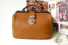 Handcrafted Leather Camera Bag / Doctor Bag / by leeloongstudio, $119.00