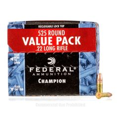 Federal 22 LR Ammo - 5250 Rounds of 36 Grain CPHP Ammunition #22LR #22LRAmmo #Federal #FederalAmmo #Federal22LR #CPHP