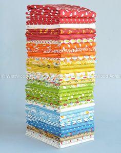 Westwood Acres Fabric — Potluck Fat Quarter Bundle by American Jane