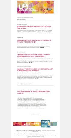 Noticias de Emprendimiento- UP Euskadi (9-15 Febrero)  17/02/2015