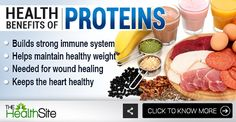 Here's why you should include proteins in your #diet! #health #healthtips #healthyfood Health Benefits, Health Tips, Wound Healing, Fruits And Vegetables, Healthy Weight, Immune System, Turmeric, Protein, Spices