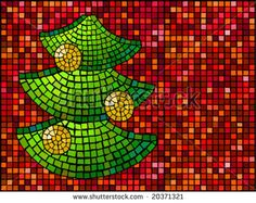 Find Mosaic Illustration Christmas Tree stock images in HD and millions of other royalty-free stock photos, illustrations and vectors in the Shutterstock collection. Christmas Mosaics, Stained Glass Christmas, Christmas Crafts, Xmas, Christmas Tree, Tree Patterns, Mosaic Patterns, Quilt Patterns, Crochet Patterns